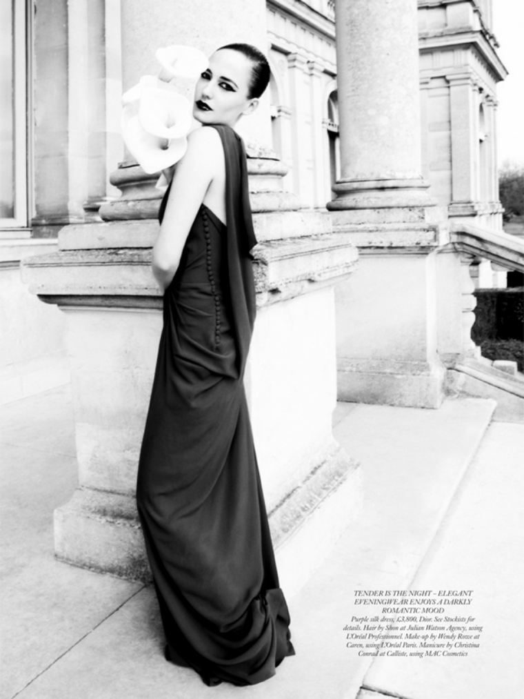 Eva Green for Harper's Bazaar UK ( June 2011 )