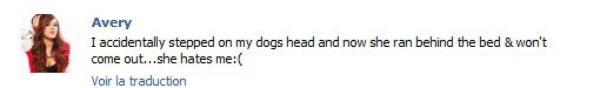 Avery parle beaucoup de Maggie Moo sa chienne, voici ce qu'il ne fallait pas rater.