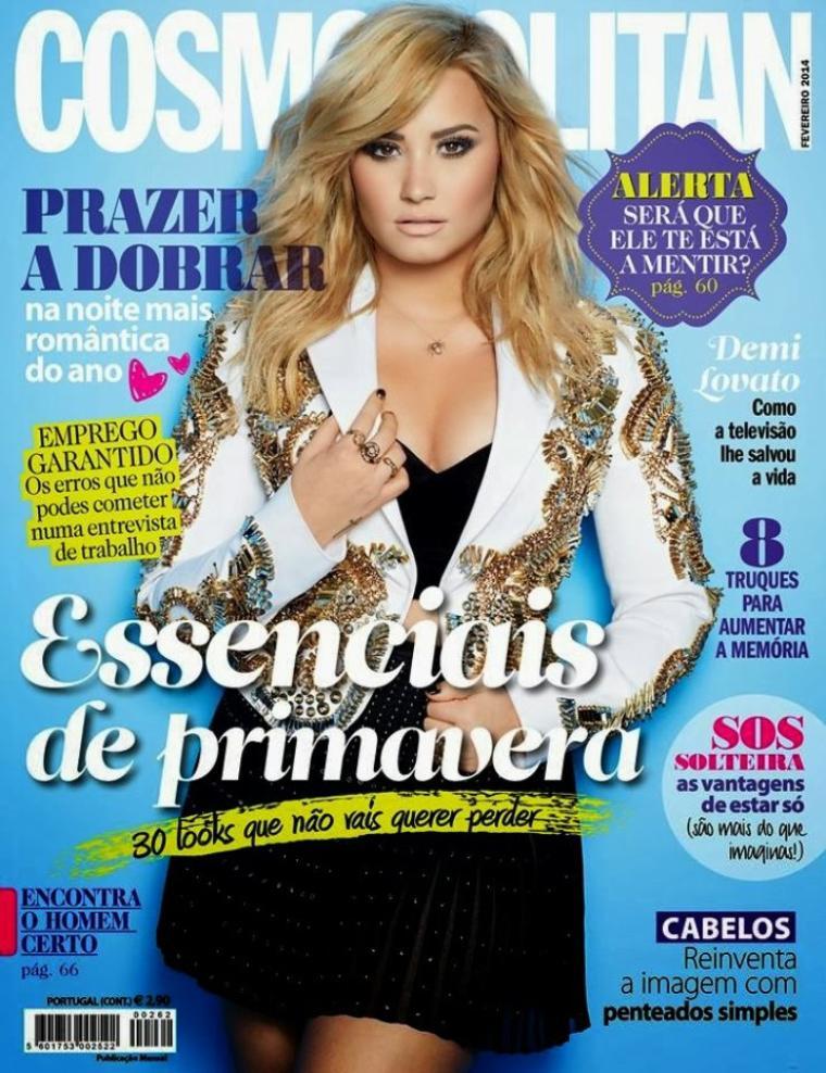 Demi Lovato Cosmopolitan Portugal Magazine
