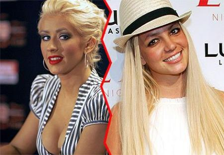 CHRISTINA AGUILERA        VS           BRITNEY SPEARS