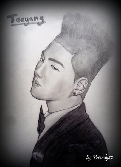 Mon portrait de Taeyang :3