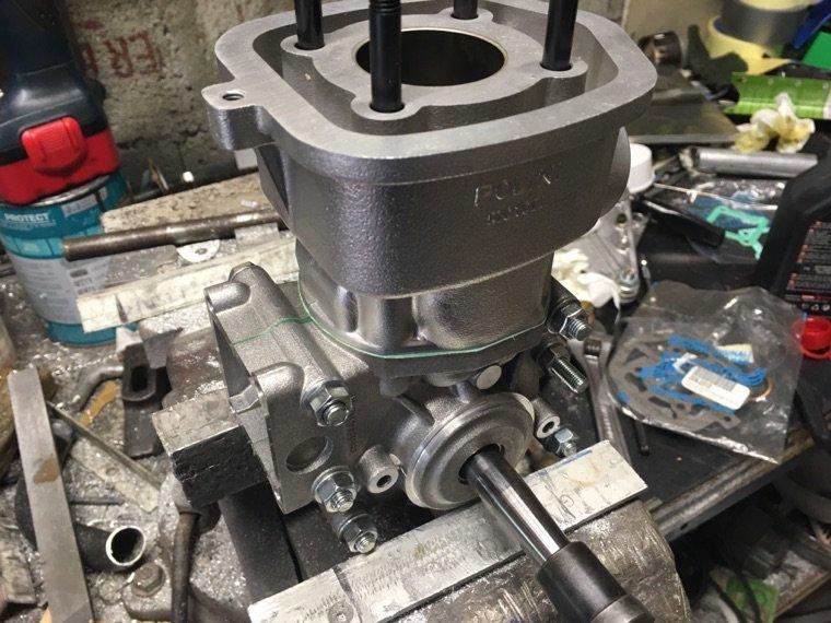 Montage moteur polini 251g