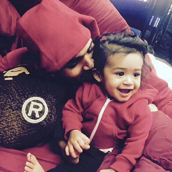 La fille de Chris Brown #ROYALTY
