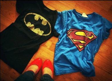 """Les noms des super-héros finissent tous pas """"man"""": Batman, Superman, Spiderman, Maman. ♥ [♥]  MAMAN JE T'AIME"""