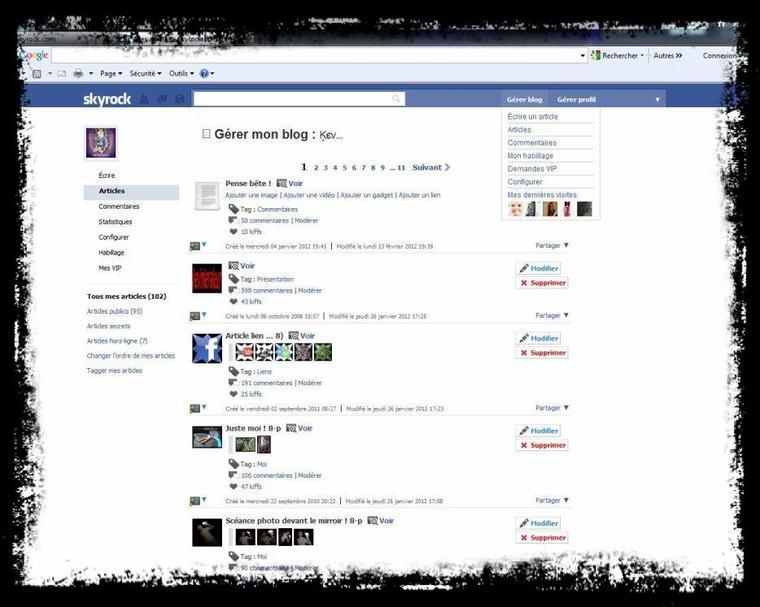 Fan de Facebook ?