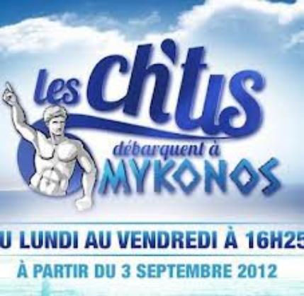 Les Ch'tis débarquent à Mykonos
