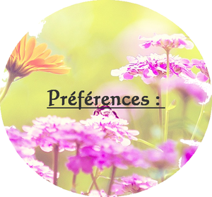 Préférences