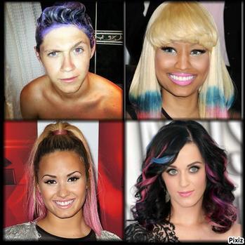 [ Coiffures ] Dip Dye Hair