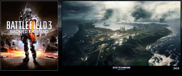 Le pack Bonus pour toutes pré-commande du jeu Battlefield 3
