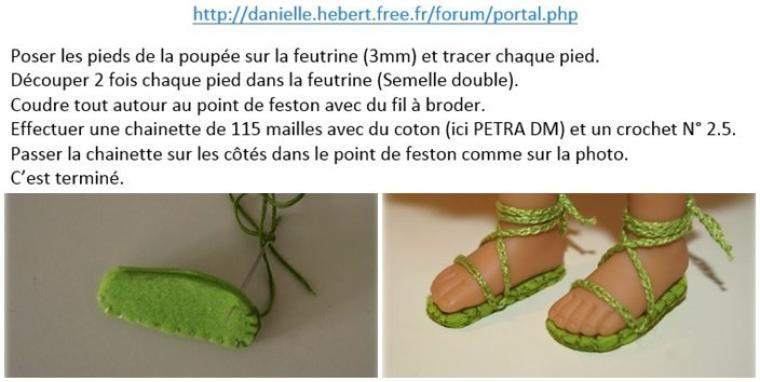 """Tutoriel """"Petites spartiates"""" pour Chérie de Corolle."""