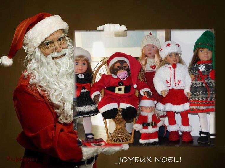 Joyeux Noël et bon réveillon!