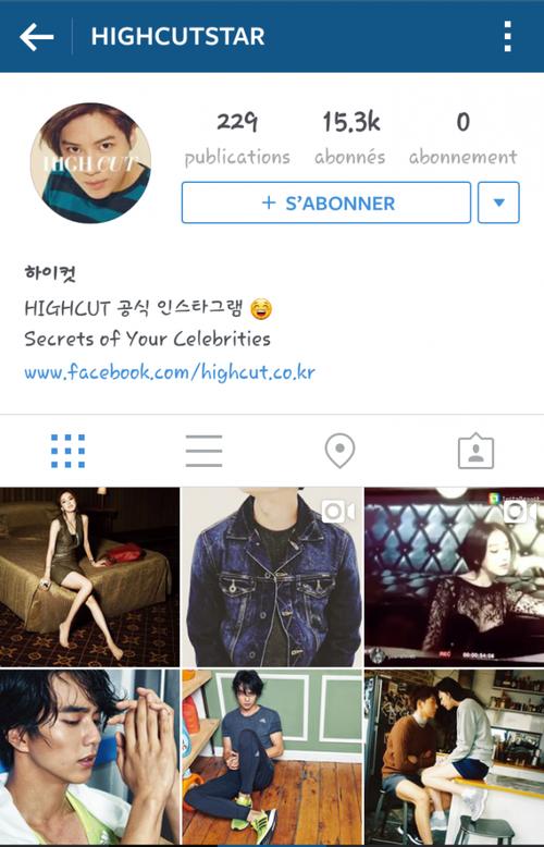 W Korea : TaeKai et High Cut : TaeMin [ Twitter & Instagram ]