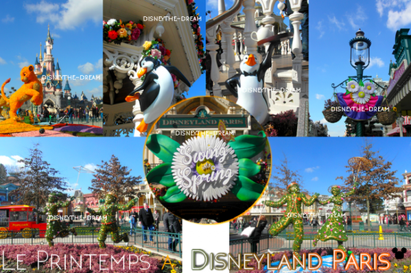 Le Printemps a Disneyland Paris !