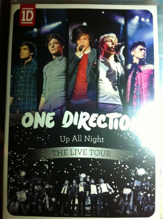 ● One Direction ;  DVD Up All Night ● ღ