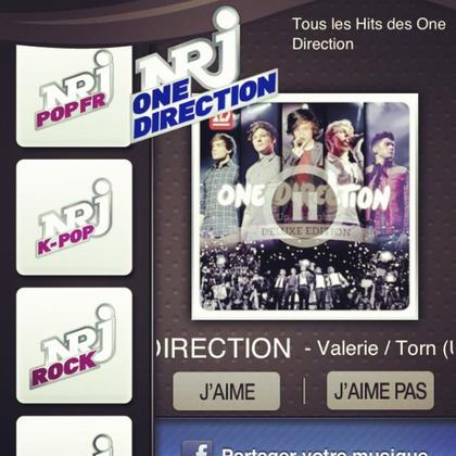 a                                   ● One Direction ;  Nrj One Direction ● ღ