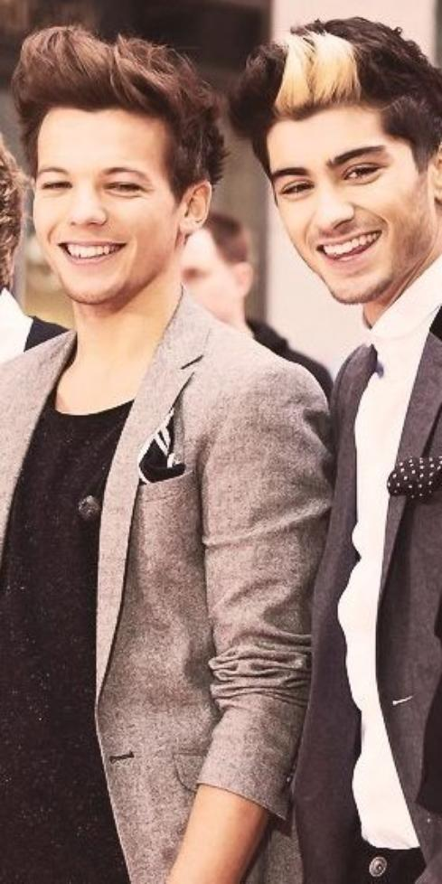 ● One Direction ; Zayn M, Louis T ● ღ