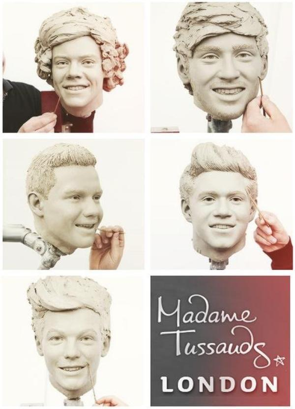 ● One Direction ;Madame Tussauds Londres ● ღ
