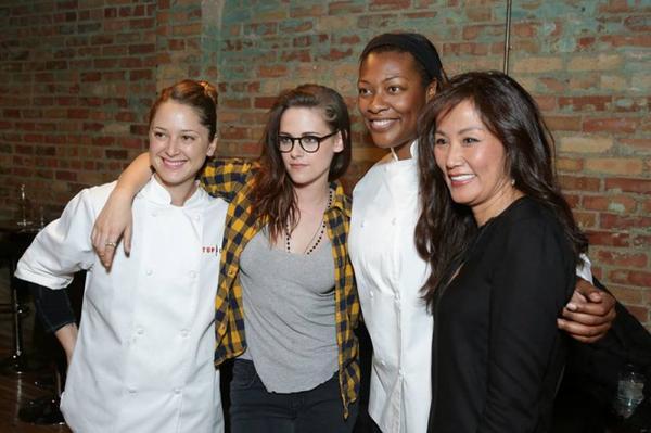 Kristen Stewart Sundance Diner