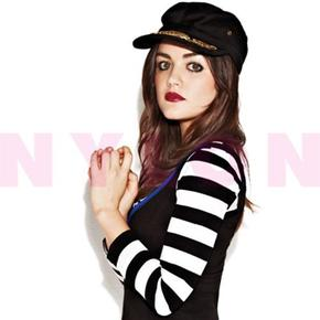 Lucy Hale .