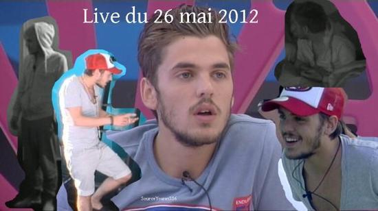 Live de Yoann, 26 mai 2012.