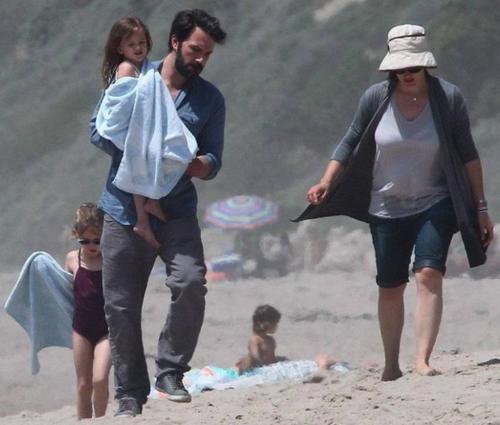 Le 29.04.2012 : Jen & Ben avec Violet & Séraphina