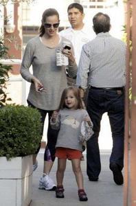 La Famille Affleck en Septembre 2012