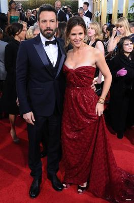 Jen & Ben aux Golden Globe Awards