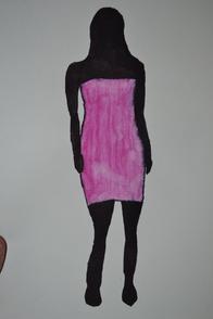 Silhouette colorée.