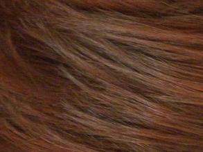 On hair.