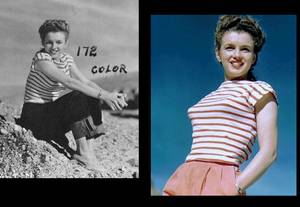 1945 Norma Jeane toujours photographiée par De DIENES.