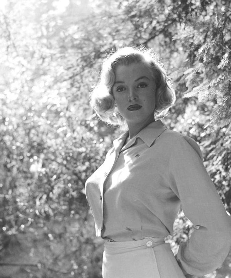 Août 1950, Marilyn photographiée par Ed CLARK (part 6).