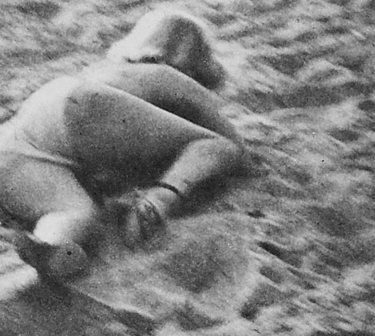 1951, c'est sur la plage cette fois-ci que Marilyn pose en bikini pour Anthony BEAUCHAMP.