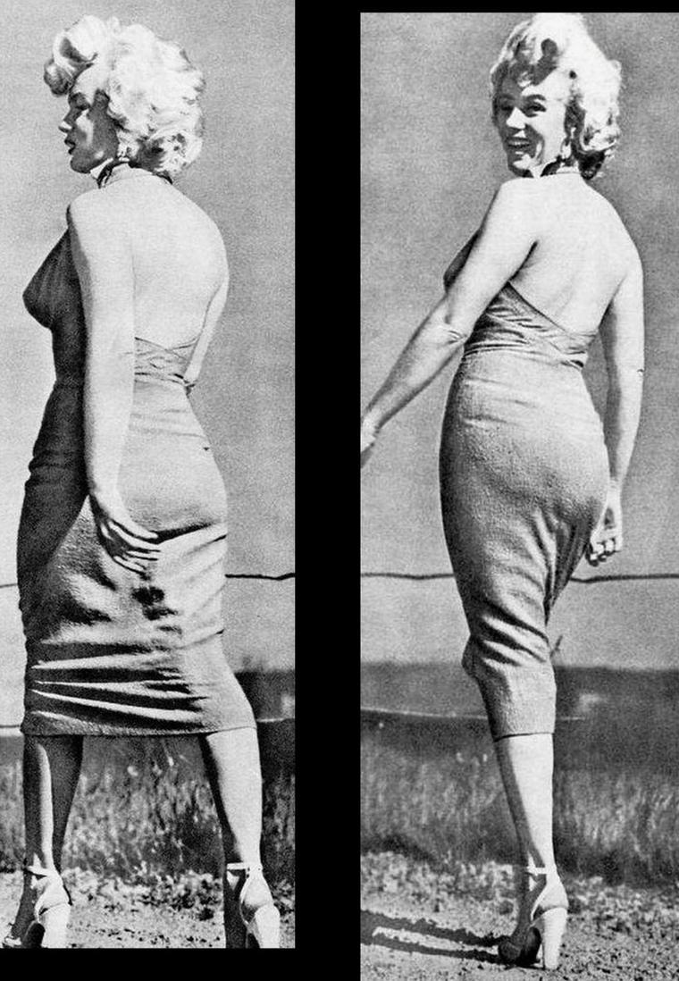 """Photos promotionnelles de Marilyn pour le film """"Niagara"""" d'Henry HATHAWAY, et série de photos de Marilyn lors du tournage."""