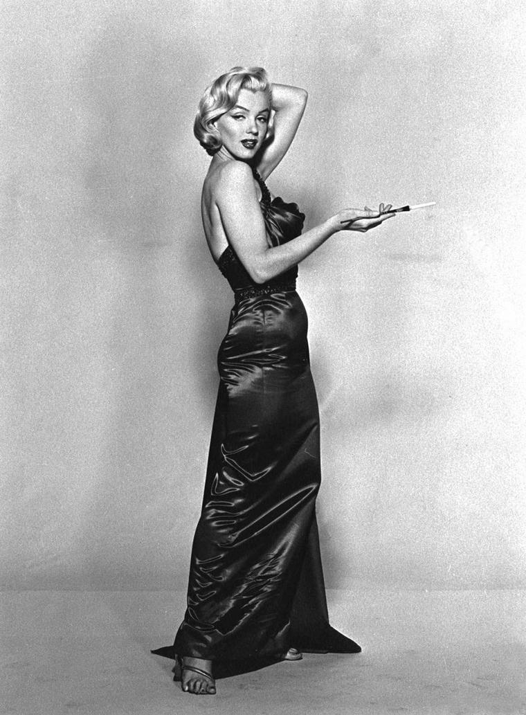 "1953 / Photos publicitaires de Marilyn signées John FLOREA,  pour le film ""How to marry a millionaire"" de Jean NEGULESCO (part 5)."