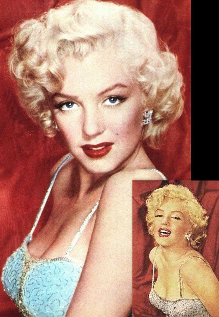 1953, Marilyn photographiée par Carlyle BLACKWELL Jr avec qui elle travailla en 1952 pour des photos de lingerie (voir dans le blog).