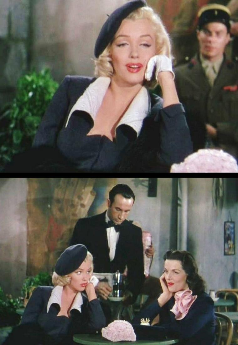 "1953 ""Gentlemen prefer blondes"" (Les hommes préfèrent les blondes) de Howard HAWKS / ""When love goes wrong..."" (part 2)"