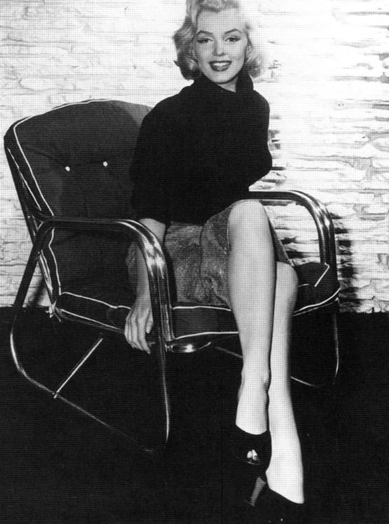 1953, Marilyn sous l'oeil de Frank POWOLNY et Mischa PELZ.