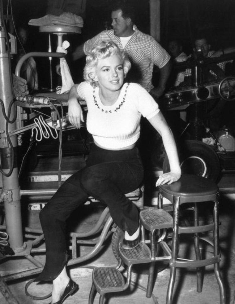 1953, PHOTOS non classées de Marilyn.
