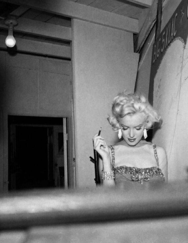 """Juillet 1953, action caritative au """"Hollywood Bowl"""" (part 2)."""
