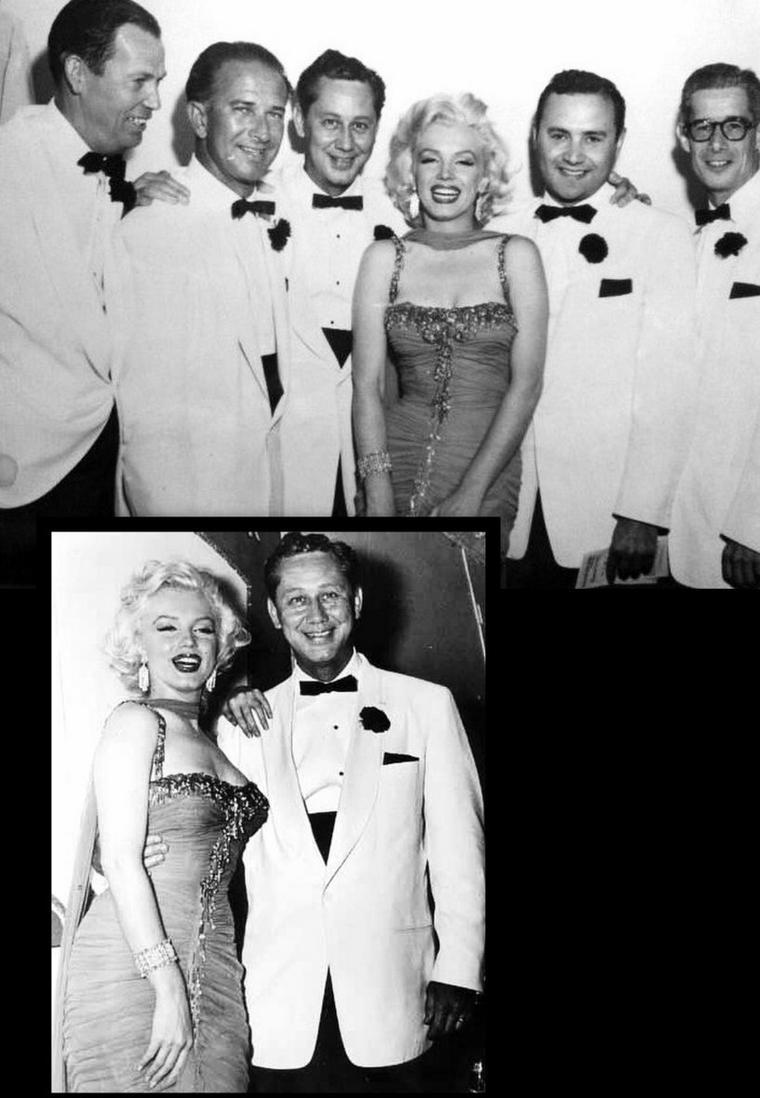 """Juillet 1953, action caritative au """"Hollywood Bowl"""" (part 3) / Le """"Hollywood Bowl"""" est un amphithéâtre moderne de 17 376 places accueillant des spectacles en plein air sur les hauteurs d'Hollywood, en Californie.  Il a été ouvert en 1922 sur le site d'un amphithéâtre naturel autrefois connu sous le nom de """"Daisy Dell"""" et accueille l'Orchestre philharmonique de Los Angeles en été, ainsi que le """"Hollywood Bowl Orchestra"""". Il est visible depuis l'aire de repos Hollywood Bowl sur Mulholland Drive."""