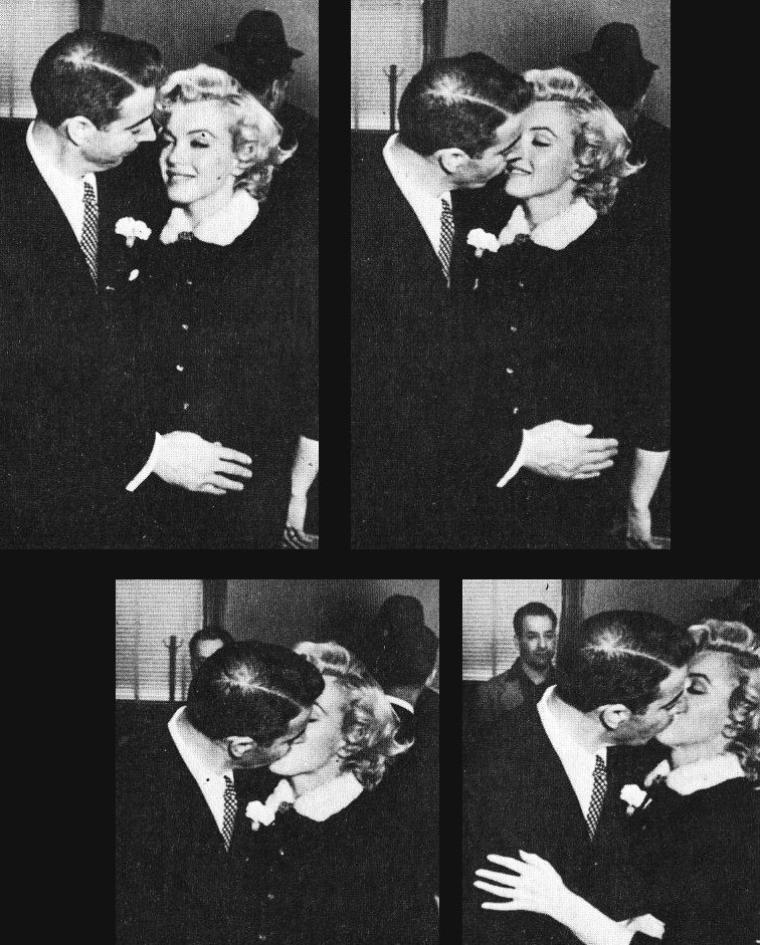 14 JANVIER 1954 / MARIAGE Marilyn et Joe DiMAGGIO (part 2).