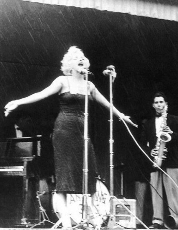Marilyn en Corée (suite).