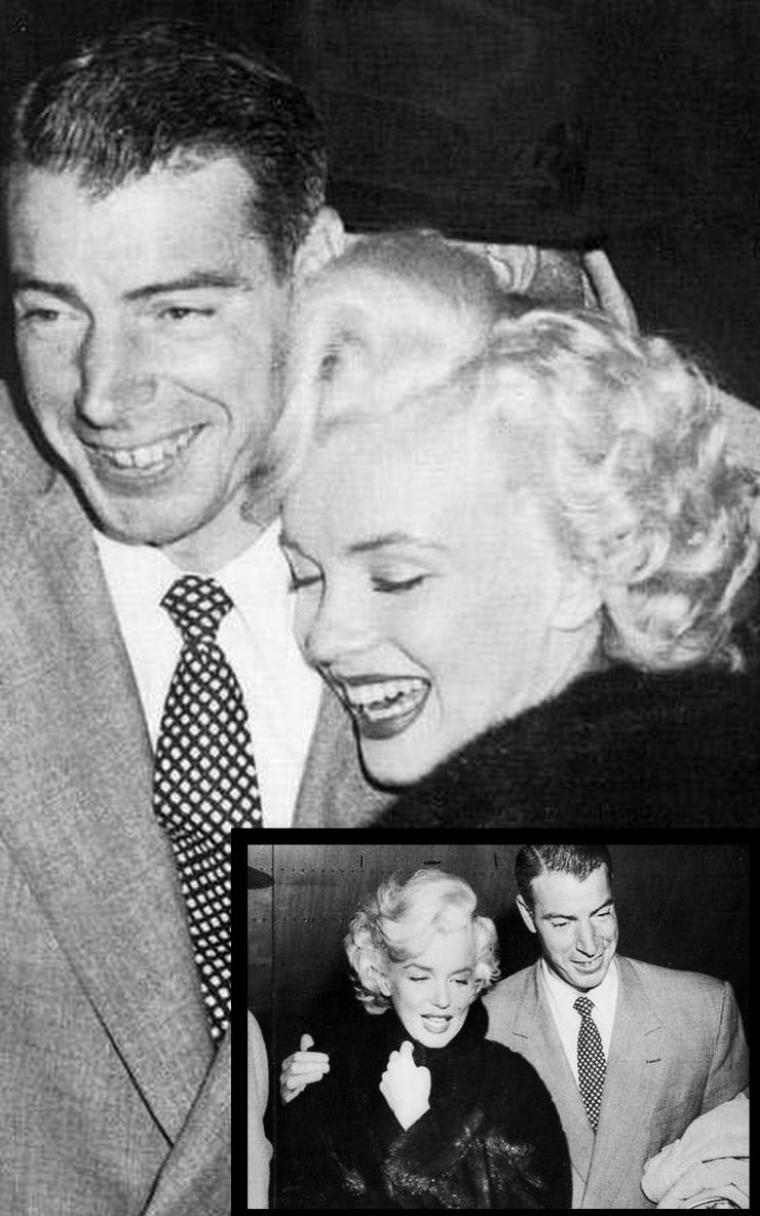 1954, les 2 couples Lefty - Jean O'DOUL et DiMAGGIO - Marilyn quittent le japon de l'aéroport de Tokyo pour attérir à l'aéroport de Los-Angeles où une foule impressionnante acclame Marilyn pour son retour au pays. Marilyn a pris froid en Corée et souffre d'une petite pneumonie.