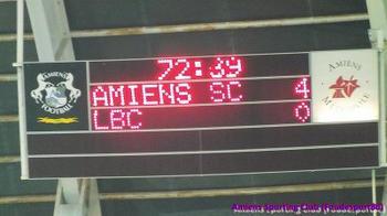 Ligue 2 - (AMIENS SC / CHATEAUROUX) - Amiens explose Châteauroux !