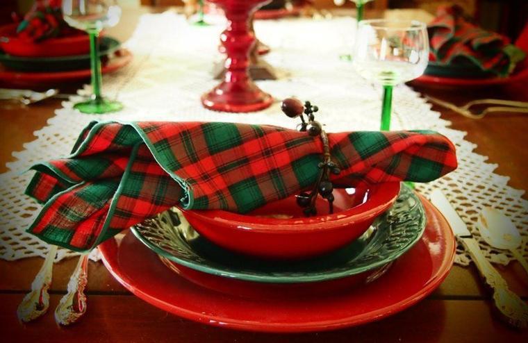 En attendant le père Noel, en  mode scottish  écossais, 24 décembre 2015.