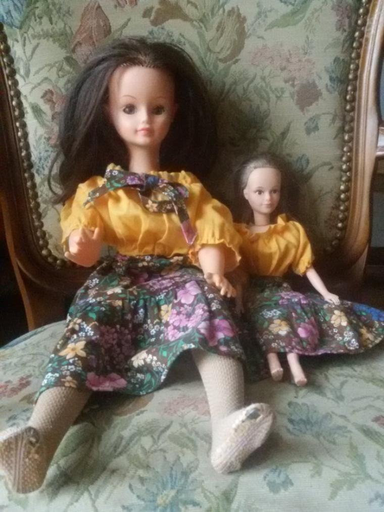Cathie et Tressy  en duo.