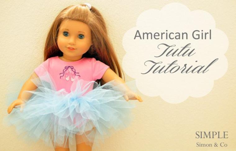Réalises un tutu facilement pour ta poupée.