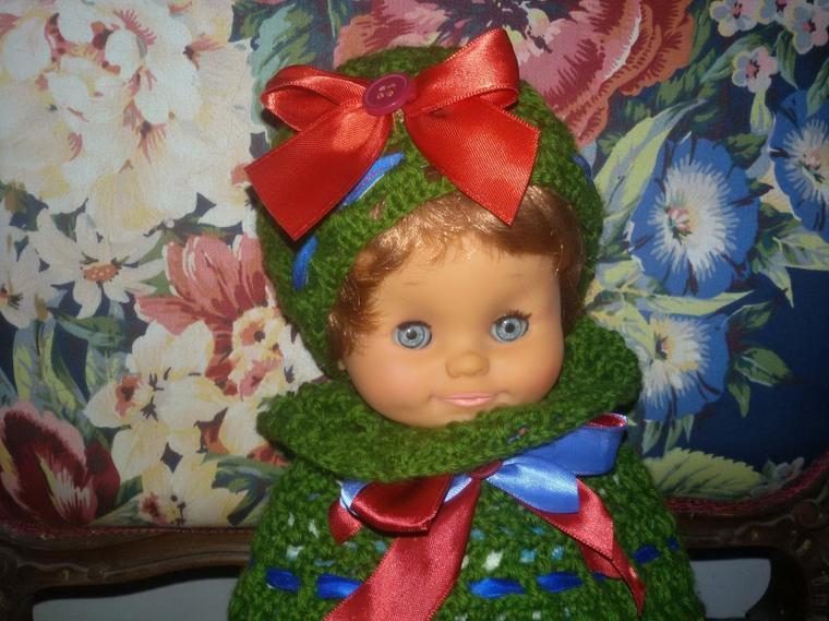 Petit Clodrey en mode vert mousse.