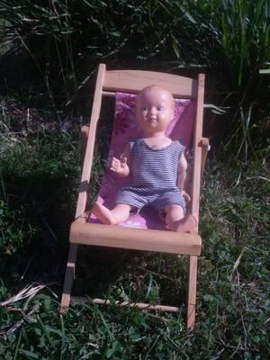 Qui va occuper la chaise longue...