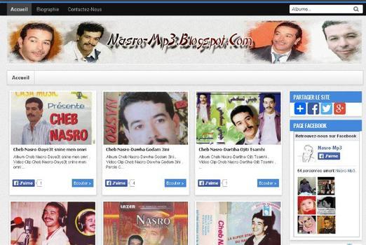 Nouveau site de Cheb Nasro